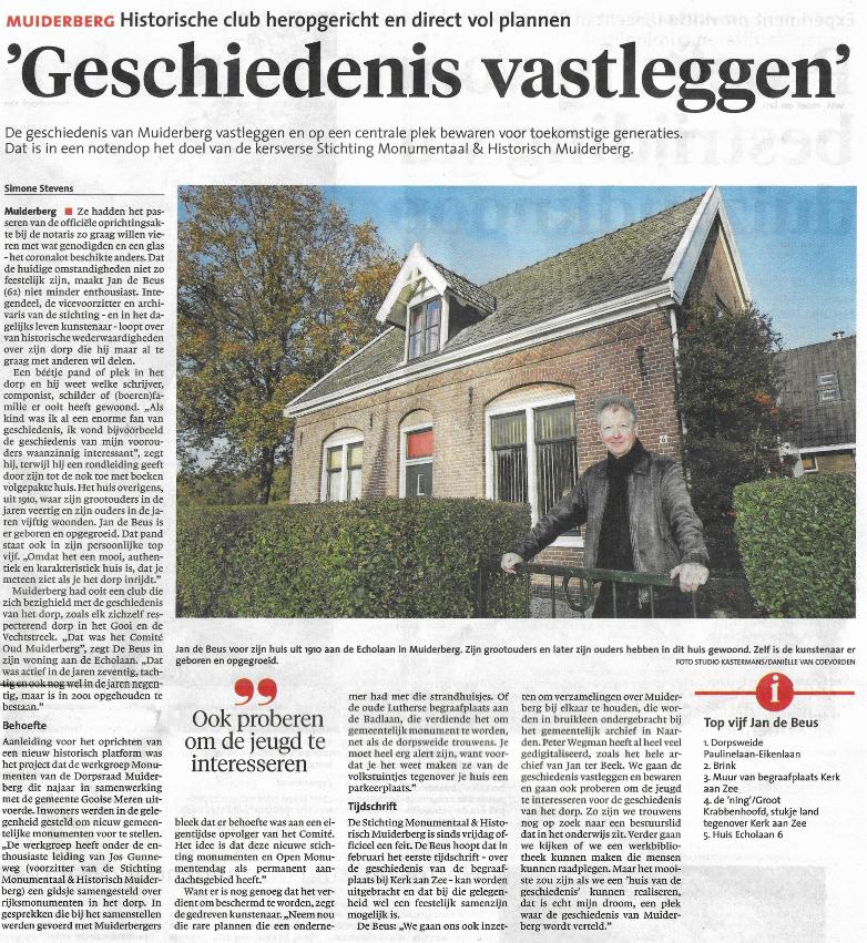 Stichting Monumentaal en Historisch Muidenberg
